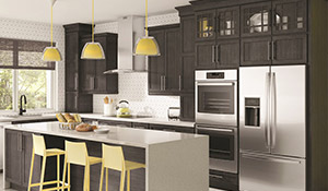 Wolde Flooring is your one-stop shop for all of your cabinetry needs!  Come by today to check out our selection of Kraftmaid cabinetry!