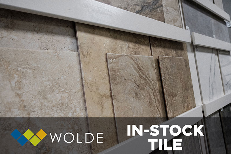 Come see our huge selection of in-stock tile at Wolde Flooring in Madison, AL today!